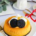 濃厚!かぼちゃのベイクドチーズケーキ