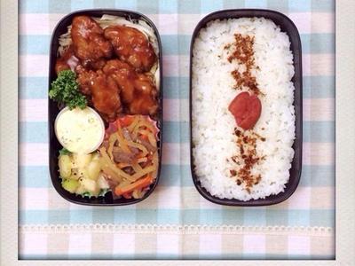 >チキン南蛮のおべんと。 by izumi_obentoさん