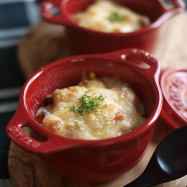 ラタトゥイユ・チーズ焼き。