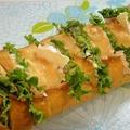 フランスパンまるまる一本サンドイッチ