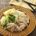 【レシピ】春キャベツと鶏肉の白ワイン蒸し