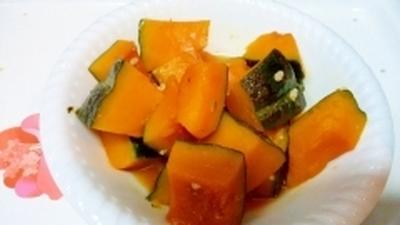 塩こうじとオリゴ糖で美味しいかぼちゃの煮付け♪