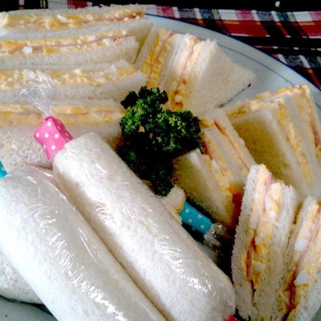 【レシピ】定番!サンドイッチ(^^♪ ~時短の工夫&隠し味~