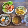 少人数のかき揚げ 野菜の天ぷら