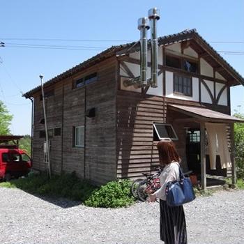 深耶馬渓から裏耶馬渓へ・山奥のカフェ