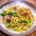具材少なめのシンプルな「和風焼うどん」が今更美味しい&「丹波篠山で食べたとろろ蕎麦」