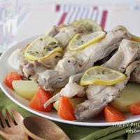 レモンハーブチキンと野菜のオーブン焼き