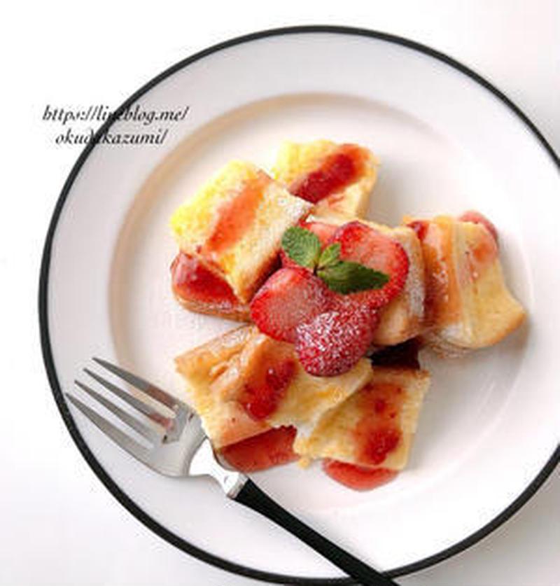 忙しい朝でも大丈夫!「食パン×レンジ」で作る簡単時短レシピ