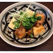 鶏もも肉と豆腐の中華風甘辛煮