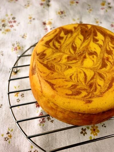 ほっくりほっくり♪ かぼちゃのチーズケーキ