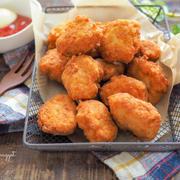 タネ作り3分!フライパンで揚げ焼き♩【お豆腐ナゲット】