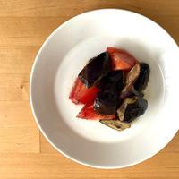 【レシピブログ】なすとトマトのマリネ × スペインのロゼスパークリング
