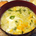 卵入り七草粥(簡単レシピ)と肉じゃが弁当♪