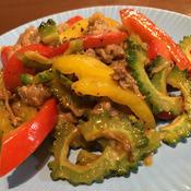 牛肉と夏野菜のプルコギ風炒め