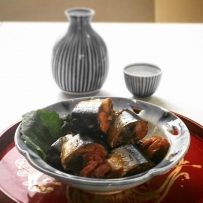 普通の鍋で骨までやわらかい、佃煮風サンマの梅酢煮