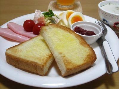 朝ご飯のような晩ご飯☆