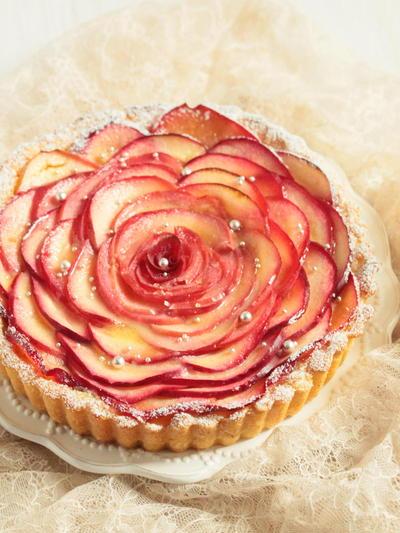 * デリシャス ♡ りんごのお花タルト♪