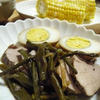 スターアニスで煮豚と、絶品ネギダレ。