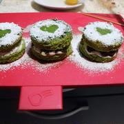 抹茶ミニケーキ、バレンタインバージョン