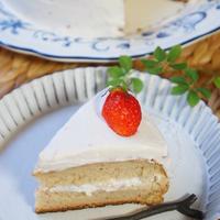 あっという間の!カリふわチュロス・フライパンで!簡単共立てのしーっとりダブル苺ショートケーキ