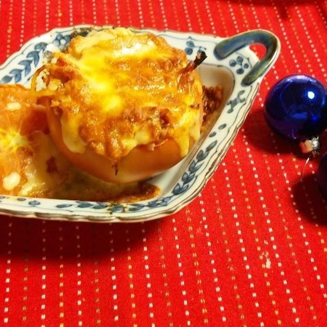 フレッシュトマトナポリタン>イン>ザ トマトカップ♪ (キッチン ラボ)