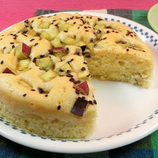 ホット ケーキ ミックス さつまいも 蒸し パン