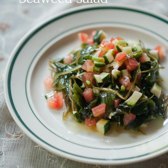 サルサな海藻サラダ♪