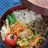 パラッと旨炒めペーストで楽々お弁当のすきまおかず。