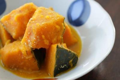 かぼちゃのごま味噌煮