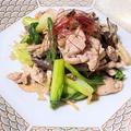 薬膳ってなぁに?今日は仕事・健康運の肉料理がラッキー、豚肉と青梗菜とヒラタケのスタミナ炒めで薬膳