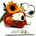 目玉焼きアートでスヌーピー♡焼きそば弁当 by とまとママさん