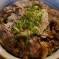 おうちで松屋by野郎飯、黒山椒ちらし松屋肉ヘブン丼