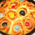 イースターのゆで卵パン