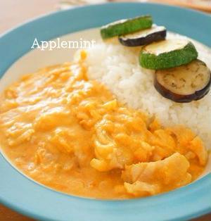 ◆ゆる糖質オフ◆野菜ジュース煮込みチキンカレー