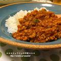 *【recipe】豚挽肉のトマトカレー* by りょうりょさん