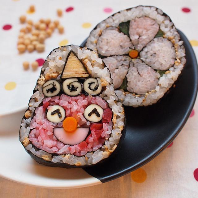 飾り巻き寿司作りました