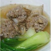 獅子頭風スープ(中華風肉団子)