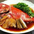 煮汁も絶品☆金目鯛の姿煮