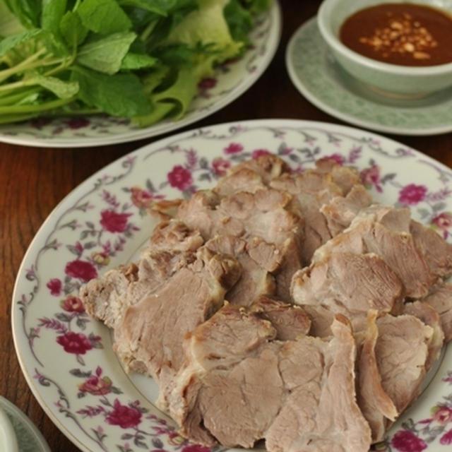 野菜で豚肉包み