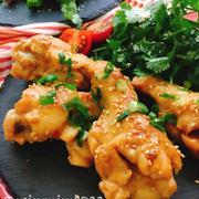 【レシピ動画】手羽元開きのにんにく生姜味噌ダレ煮