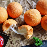♡カリッともちもち♡チーズボール♡【#ホットケーキミックス#白玉粉#簡単レシピ#韓国】