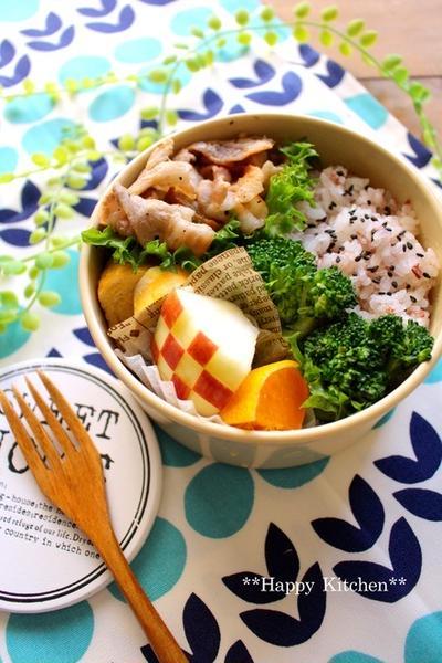 一週間のお弁当まとめ(10/24〜10/28)*めっちゃ簡単!混ぜるだけ柿のムース