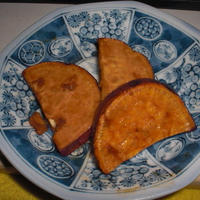 サツマイモの照り焼き