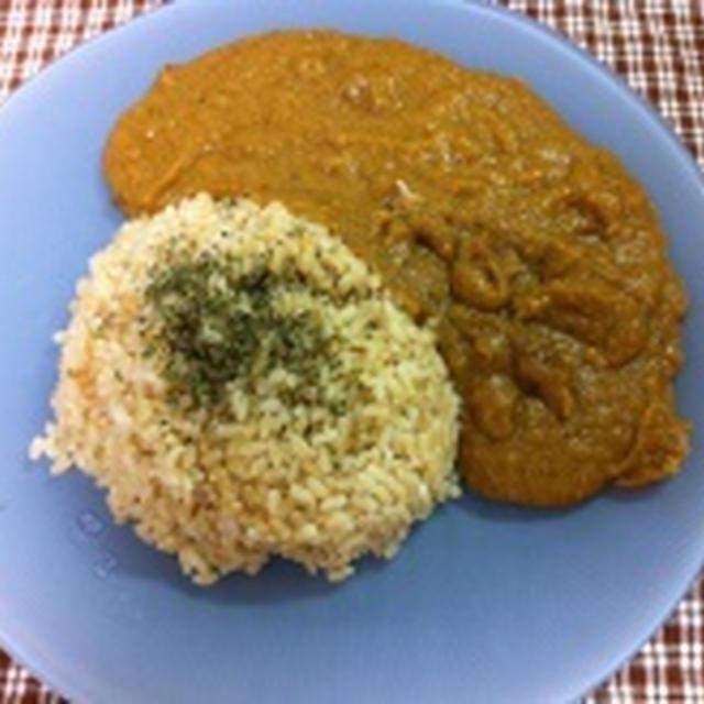 トビウオ(あご)のすり身を使った米粉カレー