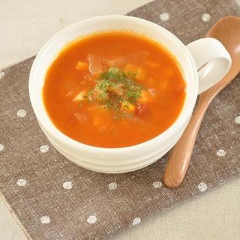 本格的な寒い冬はほっこり癒やされるスープがおすすめ【ミネストローネ】
