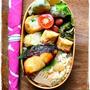 筍と桜えびの炊き込みご飯弁当