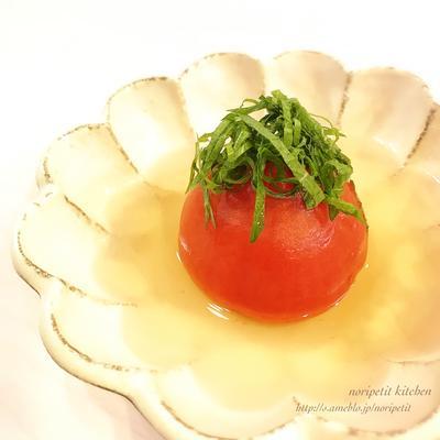 あと1品やおもてなしにも♡<らくウマ>丸ごとトマトのおでん♡