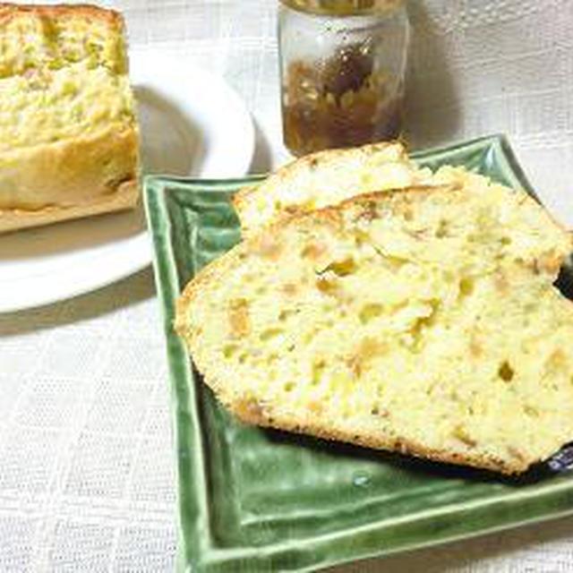 フルブラとフルブラジャムで「アップルジンジャーパウンドケーキ」