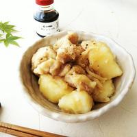 「鱈しょっつる」で作る 鶏肉とじゃがいもの生姜煮