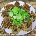オイルサーディンと根菜のつみれ焼き